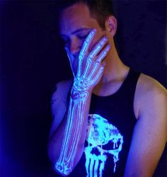 Incredible UV tattoos