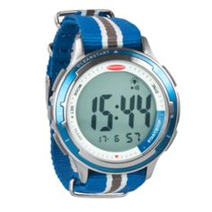 Ronstan Clear Start™ Sailing Watch - 50mm(2) - Stainless Steel w/Blue Canvas Band