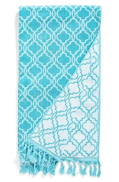 Free shipping and returns on Dena Home 'Tangiers' Jacquard Bath Towel at Nordstrom.com. A sophisticated geometric motif and swingy tassels refine a sumptuous bath towel in pure, plush cotton.