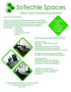 Wondering what we bring to the table? Learn here! #nyc #coworking