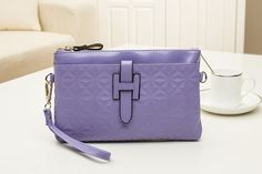 Purple Simple Quilted Leather Shoulder Bags Messenger Bag Leather Shoulder Bag, Shoulder Bags, Quilted Leather, Messenger Bags, Purple, Shoulder Bag, Purple Stuff