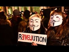 THOUSANDS TAKE PART in London 'GUY FAWKES ' protest WORLD NEWS 2014