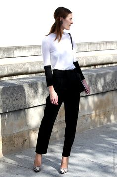 In the Street...Black and White, Paris & Milan