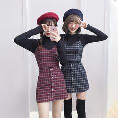 Korean Fashion – How to Dress up Korean Style – Designer Fashion Tips Korean Girl Fashion, Korean Fashion Trends, Ulzzang Fashion, Korean Street Fashion, Cute Fashion, Asian Fashion, 90s Fashion, Fashion Outfits, Fashion 2018