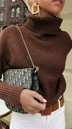 9 perfekte Pullover für den Herbst - Winter Outfits for Work - Mode İdeen Look Fashion, Skirt Fashion, Fashion Outfits, Womens Fashion, Fashion Trends, Fashion Fashion, Ladies Fashion, Fashion Clothes, Clothes Women