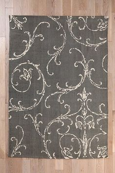 Rug option if I decide to go with a neutral color scheme. Plum & Bow Filigree Scroll Rug | Urban Outfitters.