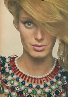Vogue August 1960 Herringbone and Houndstooth