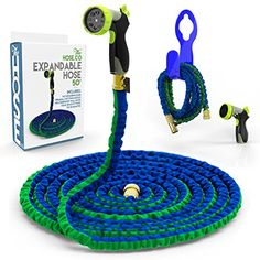 Vela 75ft Flexible Garden Hose Expandable Heavy Duty Flex Water