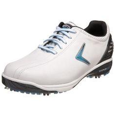 Callaway Women's Hyperbolic Golf Shoe,White/Black/Cyan Blue,US Women's 10 M Callaway. $80.00. Save 64%!