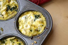 Mini spinach frittata recipe and other fun recipes for healthy eating. I'll just have to convert them to gluten free - and non-cow dairy products.