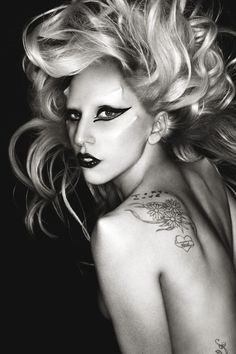 lady gaga <3 some say shes crazy, but i say shes brilliant. born this way