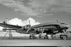 Lockheed L-749-79-46 - F-BAZP (cn 2550) Served Air France 1948 until 1960. Modified later to L-749A and fitted out as 65-seater for European services. To SGAC in SAR configuration with call sign F-SSFP. Scrapped in 1973. From Air France 60 years ago. Photo taken in 1947