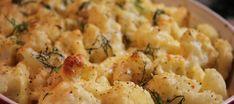 Eenvoudige aardappel-bloemkoolgratin | Lekker Tafelen Belgian Food, Dutch Recipes, Weight Watchers Meals, Potato Salad, Cauliflower, Casserole, Side Dishes, Food And Drink, Healthy Recipes