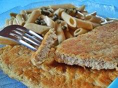 Escalopes d'haricots blancs, amande (Vegan) Extreme Food, Fish And Chicken, Happy Vegan, Vegetarian Recipes, Healthy Recipes, Veggie Dishes, Whole Food Recipes, Macaroni And Cheese, Food To Make