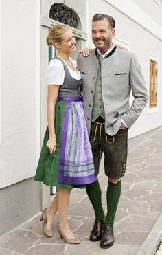 05aacc2e1f09a LIMBERRY Alpenkitz Türkises Dirndl mit Paisley Muster | Beauty ...