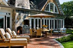 TMS Architects - outdoor living room