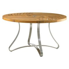 Outdoor Tommy Bahama Tres Chic Round Dining Table - 01-3401-870TT/870TB