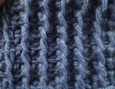 Tunisian Crochet, Crochet Top, Denim Bag, Crochet Videos, Knitting Stitches, Embroidery, Youtube, Blouse, Inspiration