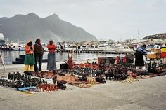 Visit the market at Hout Bay, Cape Town