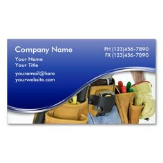 Garage Door Business Cards Handyman Pinterest And