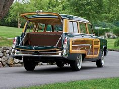 1952 Mercury Monterey Woody Wagon