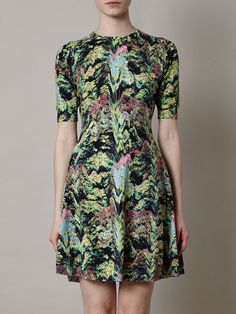 forest print dress - Google Search