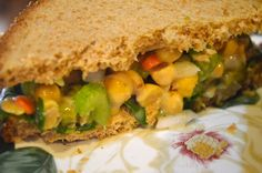 This Vegan Girl - Chickpea Salad Sandwiches