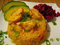Cocina Costarricense: arroz con pollo cervecero