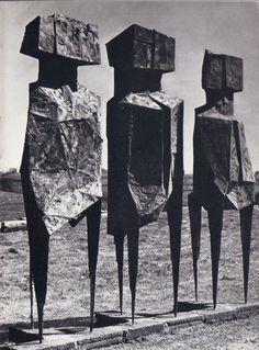 Lynn Chadwick - The watchers, 1960