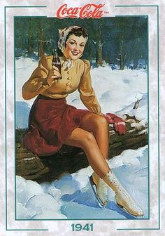 Coca-Cola Calendar 1941 #184 1994 by Jimmy Tyler,