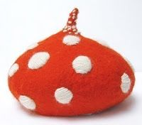 This is a mushroom hat! This is for you hannah.