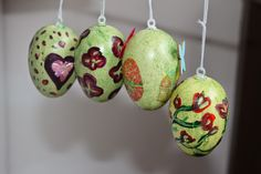 Ostern Christmas Ornaments, Holiday Decor, Diy, Home Decor, Easter, Xmas Ornaments, Homemade Home Decor, Bricolage, Christmas Jewelry