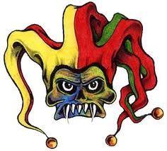 jingle jester tattoo Jester Tattoo, Bowser, Tatting, Fictional Characters, Ideas, Art, Art Background, Bobbin Lace, Kunst