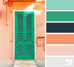 { a door hues } image via: @colourspeak_kerry_