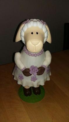 Caketales Schaf Mädchen