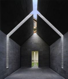 Entrée archi-beton