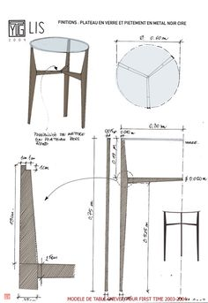 furniture design croquis