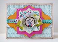 This card uses a new set by @JustRite Stampers, called, Your Special Day. Uses JustRite Custom Nested Medalliondie manufactured by by @Spellbinders for JustRite.  Card designed by Michele Kovack.