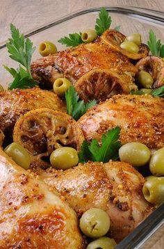 Receita de Frango com Limão. Que tal um frango apetitoso com sabor diferenciado? Experimente!