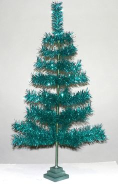 4' Pink Feather Christmas Tree 48