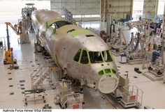 Embraer KC390 under construction