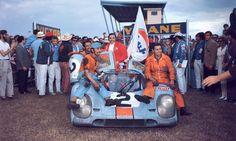 Pedro Rodríguez Porsche Gulf.