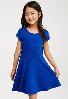 Classic Knit Skater Dress (Kids) | Forever 21 girls | #f21kids