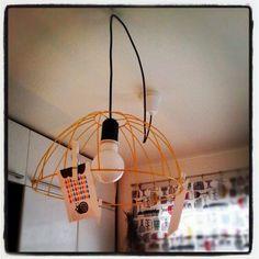 diy kitchen lamp - vanha löytö roskiksesta sai uuden paikan keittiöstä vähän tuunattuna. Photo by laurainen Ceiling Lights, Lighting, Pendant, Instagram, Home Decor, Decoration Home, Room Decor, Hang Tags, Lights