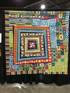 Mail Orange Édredons Cabin Log, Log Cabin Quilts, Barn Quilts, Modern Quilt Patterns, Quilt Patterns Free, Block Patterns, Sampler Quilts, Scrappy Quilts, Quilt Modernen