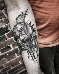 Art tattoo Black
