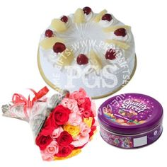 Send Cake Delight Combo To Pakistan Birthday GiftsValentine