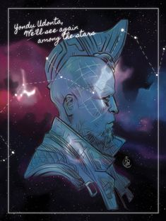 """Father and Son """"Yondu Udonta… We'll see again among the stars"""" *Enter cry here* Marvel Fan Art, Marvel Heroes, Marvel Characters, Hawkeye, X Men, Hulk, Thor, Loki, Captain America"""