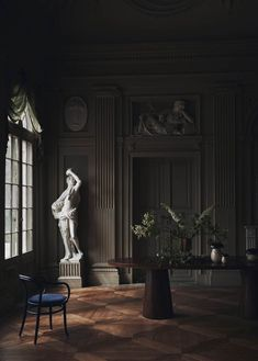 Home Decoration Application Product French Interior, Cafe Interior, Room Interior, Exterior Design, Interior And Exterior, Tableaux Vivants, Boho Home, Dark Interiors, Neoclassical