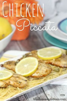 Chicken Piccata reci